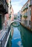kanałowy Venice zdjęcia stock