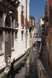 kanałowy Wenecji Fotografia Stock