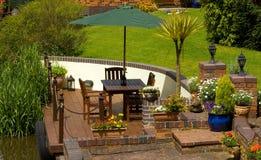 kanału ogródu strona Obraz Stock