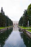 kanału peterhof niski parkowy Zdjęcia Royalty Free