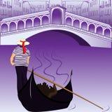 Kanał Wenecja Obraz Royalty Free