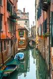 Kanały Wenecja, murano, burano Zdjęcia Royalty Free