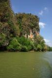 Kanaab Nam Cliffs in Krabi, Thailand Royalty Free Stock Photo