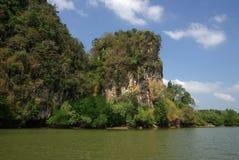 Kanaab Nam Cliffs in Krabi, Thailand Stock Image