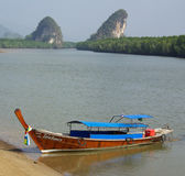 Kanaab Nam Cliffs in Krabi, Thailand Stock Images