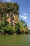 Kanaab Nam Cliffs in Krabi, Thailand Royalty Free Stock Images