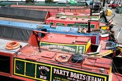 Kanaal Boatyard Royalty-vrije Stock Foto