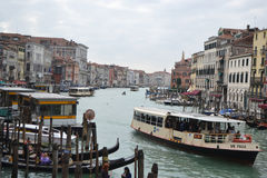 Kanaal Grande in Venetië Royalty-vrije Stock Fotografie
