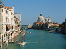 Kanaal Grande, Venetië Stock Foto