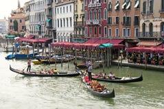 Kanaal grande - Venetië - Italië Stock Foto