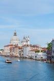 Kanaal Grande in VENETIË, ITALIË royalty-vrije stock foto