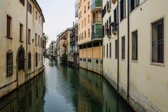Kanaal, Padua Stock Afbeeldingen