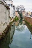 Kanaal, Padua Stock Foto