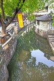 Kanaal in Suzhou, China royalty-vrije stock fotografie