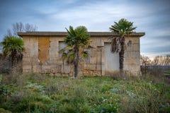 Kanaal van Castilla stock afbeelding