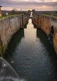 Kanaal van Castilla stock foto