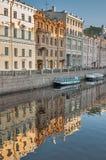 Kanaal van Griboedov in heilige-Petersburg Rusland stock foto