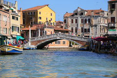 Kanaal van Venetië Royalty-vrije Stock Foto's