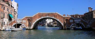 Kanaal van Venetië Stock Afbeeldingen