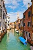 Kanaal in Venetië Stock Afbeeldingen