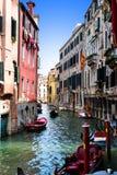 Kanaal - Venetië Stock Foto's