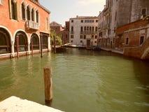 Kanaal in Venetië Royalty-vrije Stock Afbeelding