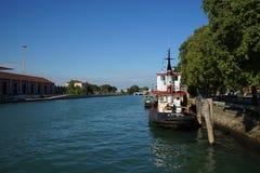 Kanaal in Venetië Royalty-vrije Stock Afbeeldingen