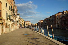 Kanaal in Venetië Stock Afbeelding