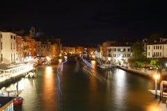 Kanaal in Venetië Stock Foto's