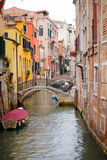 Kanaal in Venetië Royalty-vrije Stock Foto