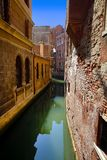 Kanaalcityscape in Venetië, Italië royalty-vrije stock afbeelding