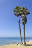 Kanaaleilanden en Ventura Beach, CA Stock Afbeelding