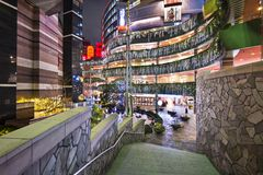 Kanaalstad, Fukuoka, Japan Royalty-vrije Stock Afbeeldingen