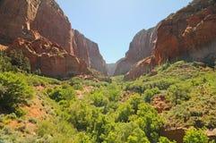 Kanab Canyons Royalty Free Stock Photography