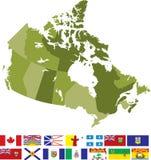 Kanada royaltyfri illustrationer
