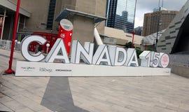 Kanada 150 Royaltyfria Bilder