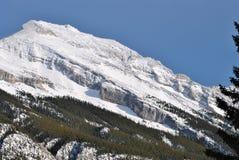 Kanada Alberta Banff National Park Rocky berg Royaltyfria Foton