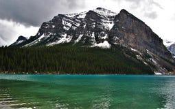 Kanada Alberta Lake Louise Banff National parkerar Royaltyfri Foto