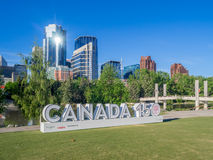 Kanada 150 berömtecken Royaltyfri Foto