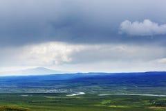 Kanada berg Fotografering för Bildbyråer