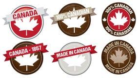 Kanada beschriftet Designe vektor abbildung