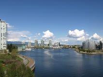 Kanada cityscape vancouver Royaltyfri Bild