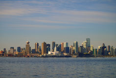 Kanada cityscape vancouver Arkivbild
