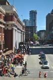 Kanada dag i Vancouver Arkivbilder