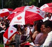 Kanada dag som in svär för nya kanadensare Fotografering för Bildbyråer