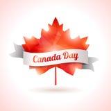 Kanada dag, vektorillustration Fotografering för Bildbyråer