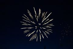 Kanada dagfyrverkerier i himlen 14 Royaltyfri Fotografi