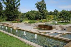 Kanada, der botanische Garten von Montreal lizenzfreies stockbild