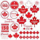 Kanada dnia clipart Obraz Royalty Free