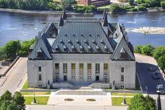 Kanada domstol suveräna ottawa Royaltyfri Foto